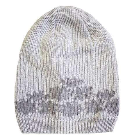 Lenne Maike Mazuļu adīta kokvilnas cepure