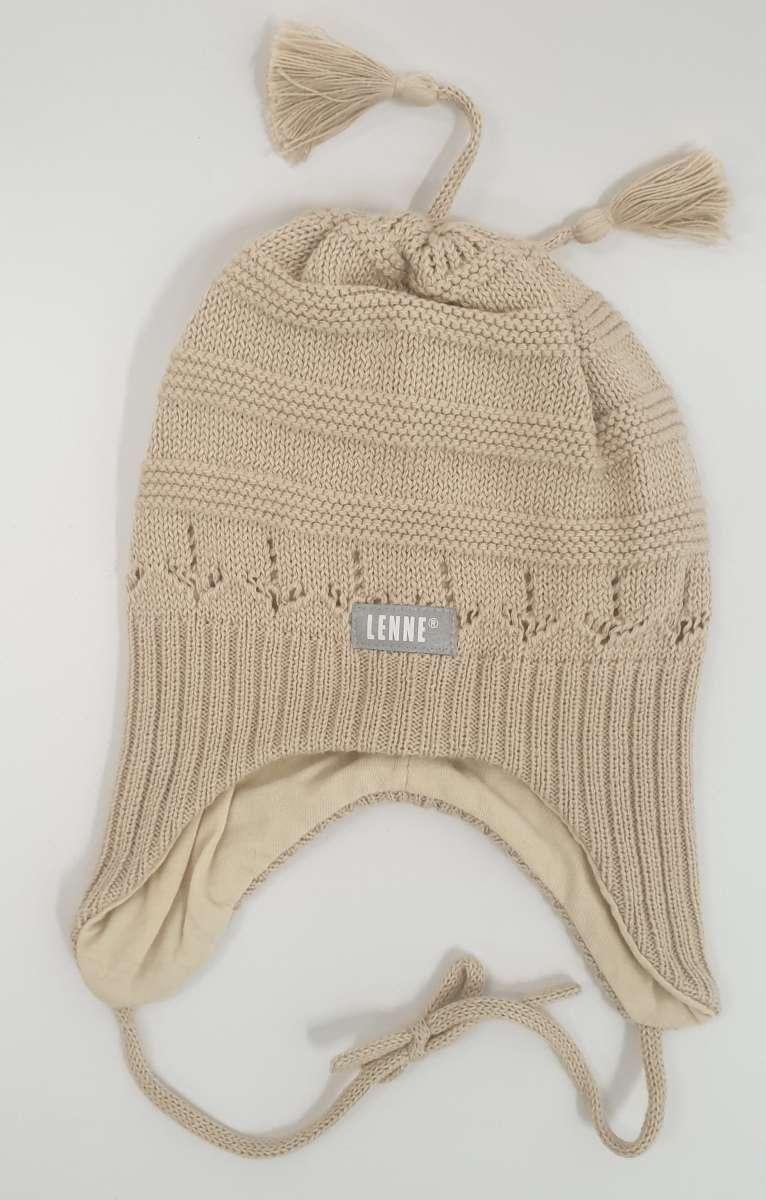 Lenne Swena Mazuļu adīta kokvilnas cepure