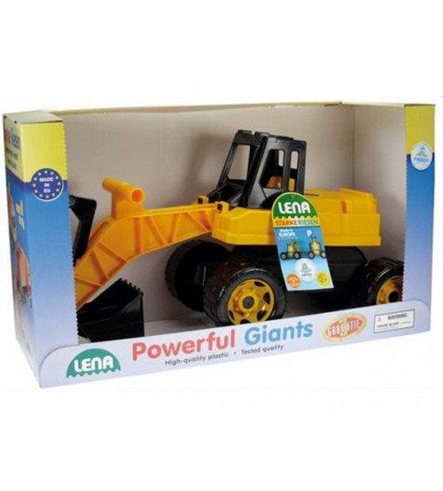 Lielā bērnu mašīna Ekskavators LENA MAXI 65 cm (kastē) L02047