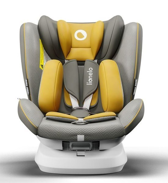 Lionelo Bastiaan One Yellow Mustard Bērnu autosēdeklis 0-36 kg
