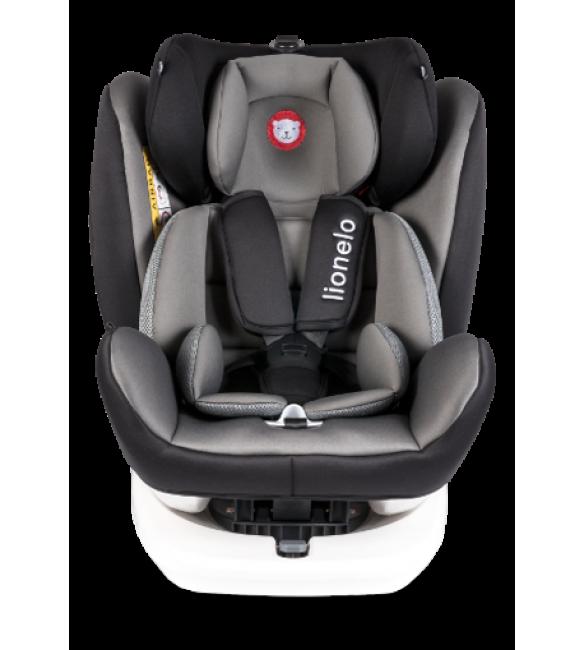 Lionelo BASTIAN Isofix grey Bērnu autosēdeklis 0-36 kg