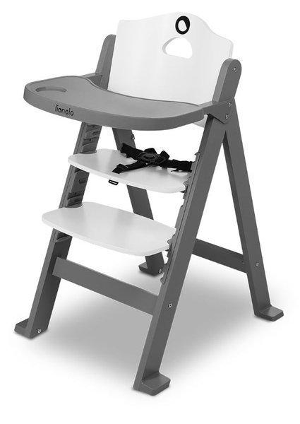 Lionelo Floris Grey Stone 3in1 Barošanas krēsliņš