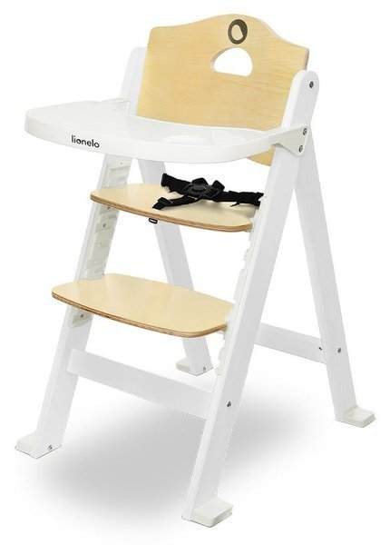 Lionelo Floris Grey White 3in1 Barošanas krēsliņš