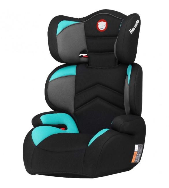 Lionelo LARS turquoise Autokrēsliņš no 15-36 kg