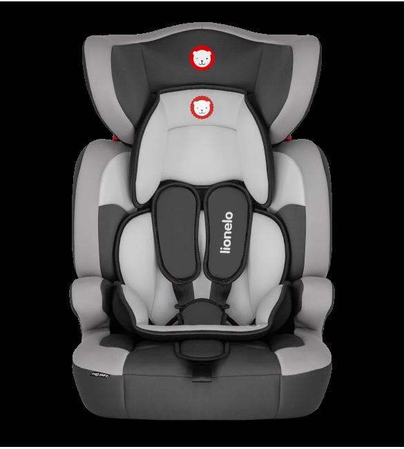 Lionelo LEVI ONE grey Bērnu autosēdeklis 9-36 kg