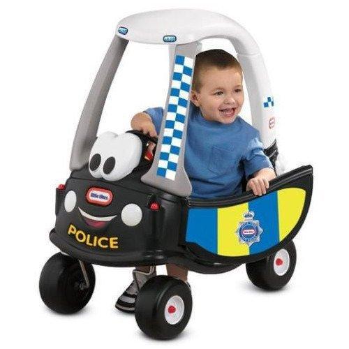 Little Tikes Cozy Coupe Policija Bērnu stumjama mašīna