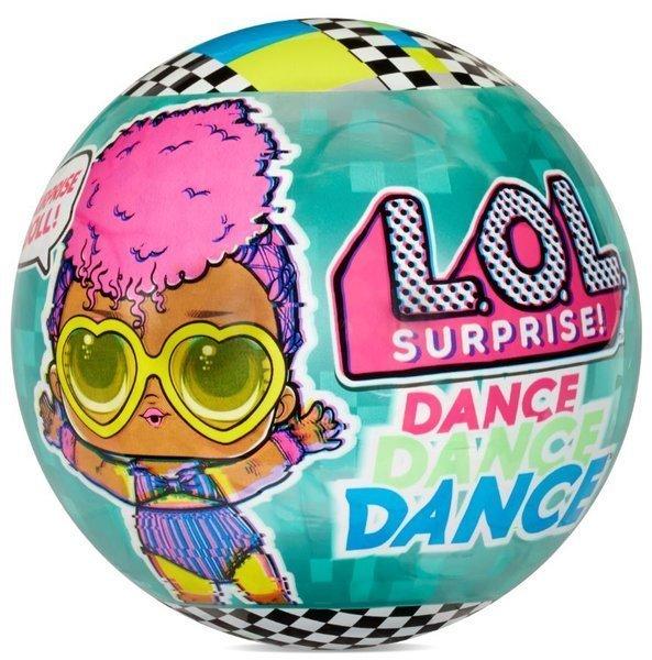 LOL MGA Surprise Dance Dolls 8+ Surprises Pārsteiguma lellīte