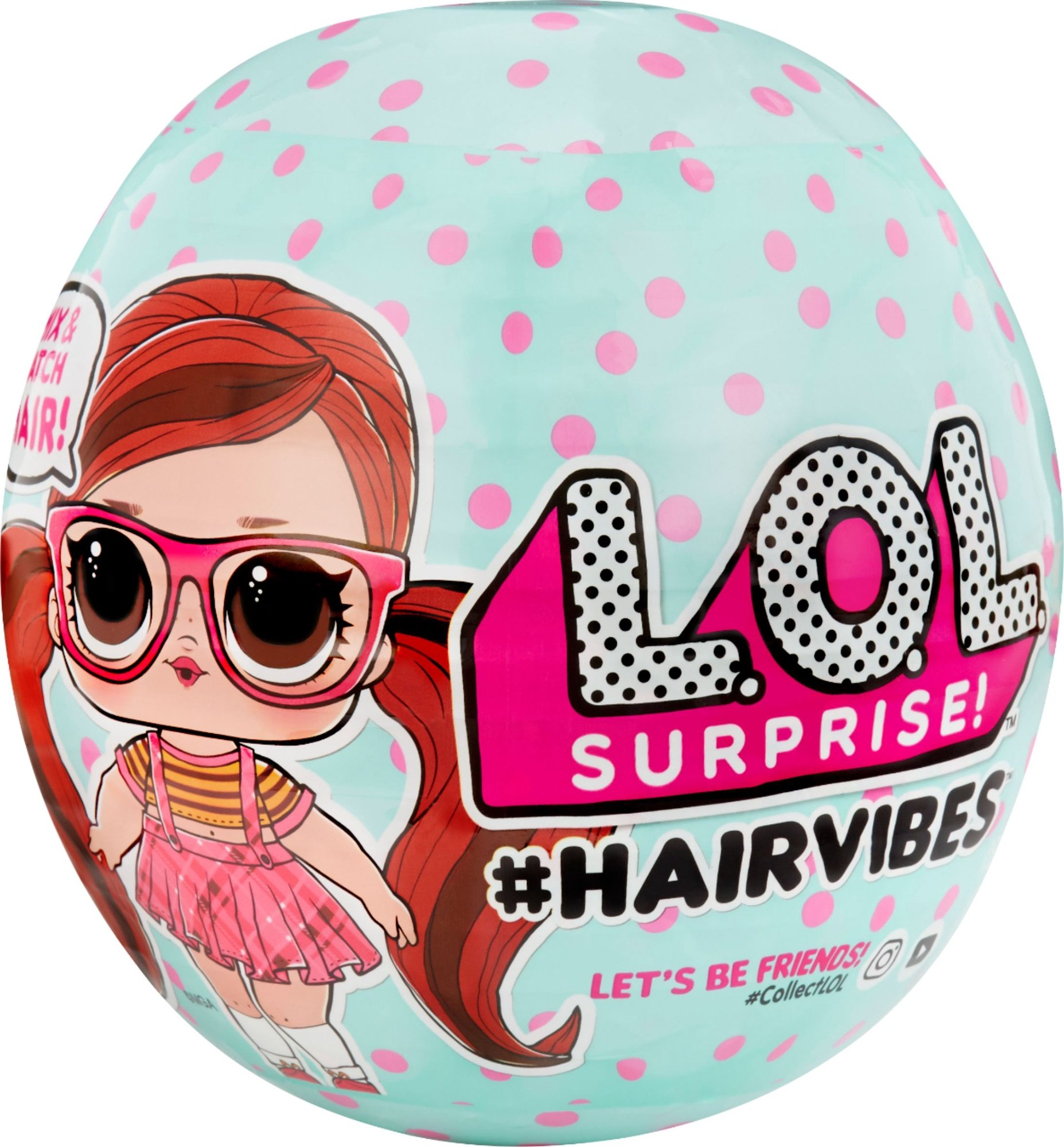 LOL Surprise Hairvibes Pārsteiguma lelle 564744