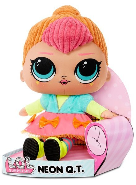 LOL Surprise! NEON Q.T. HUGGABLE SOFT PLUSH DOLL