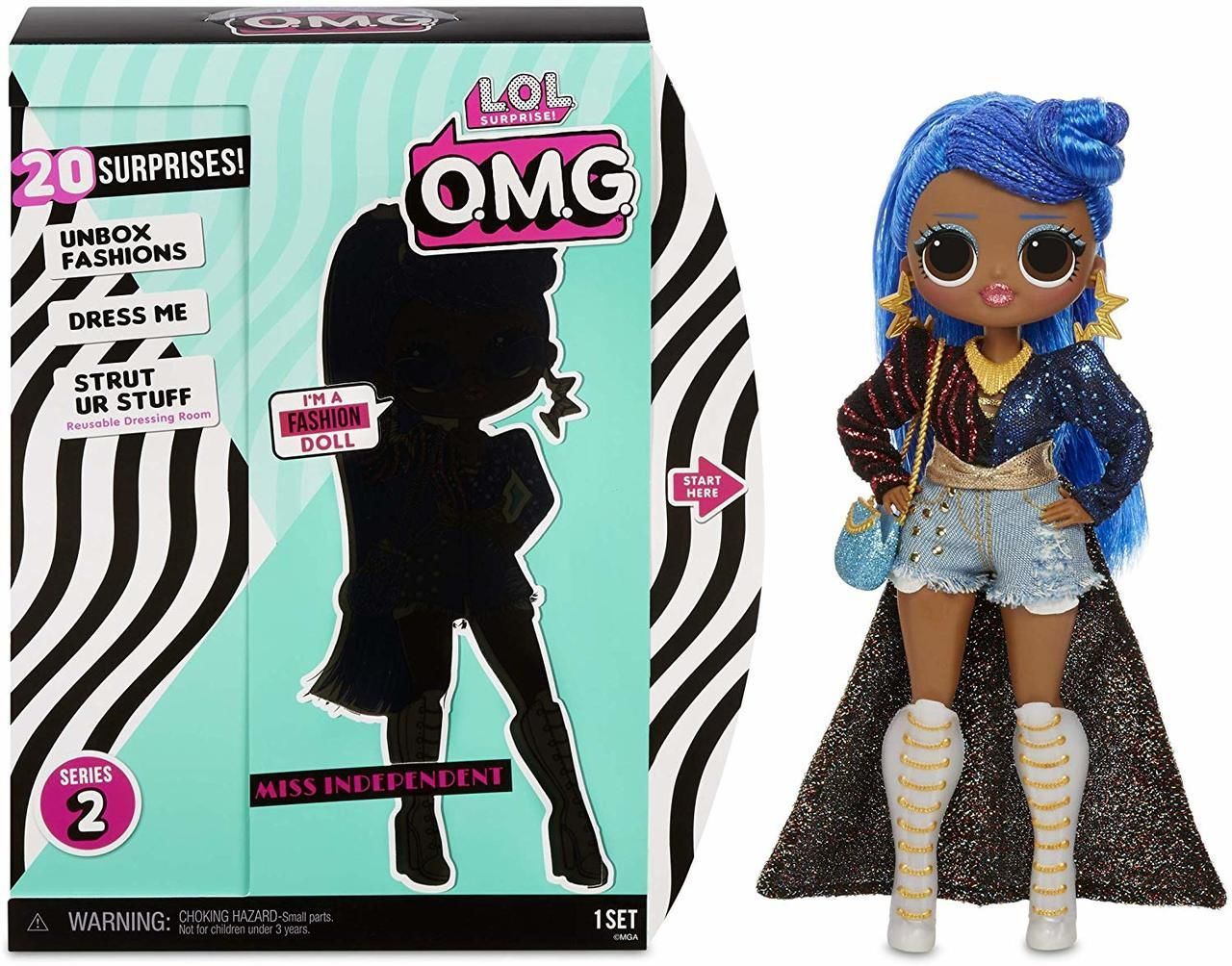 LOL SURPRISE O.M.G. MISS INDEPENDENT Fashion Doll EXCLUSIVE
