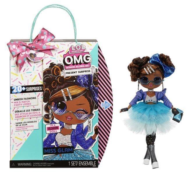 LOL SURPRISE O.M.G. Present Surprise Miss Glam Fashion Doll