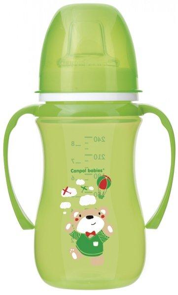 Mācību krūze 240 ml Canpol EASY START 38/208 green