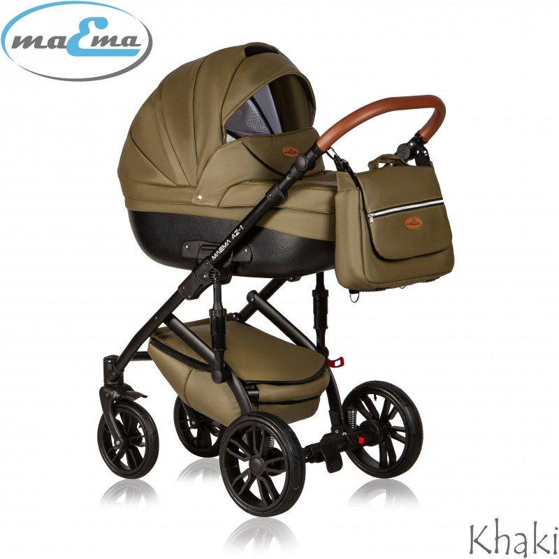 Maema AZ1 3in1 Khaki Bērnu ratiņi 3 in 1