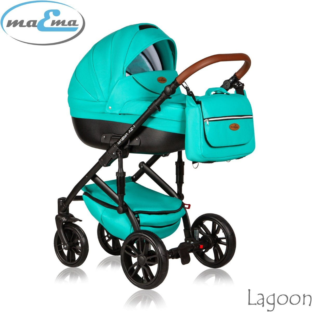 Maema AZ1 Lagoon Bērnu rati 3in1