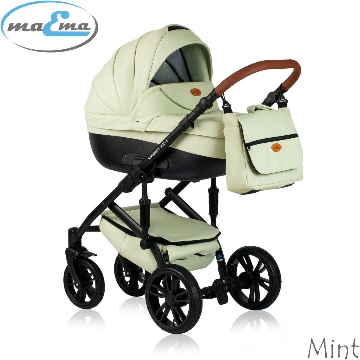 Maema AZ1 Mint Bērnu rati 3in1
