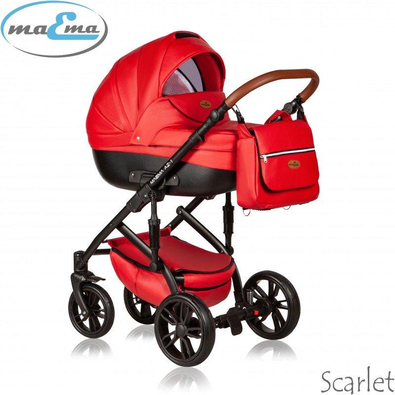 Maema AZ1 Scarlet Bērnu rati 3in1