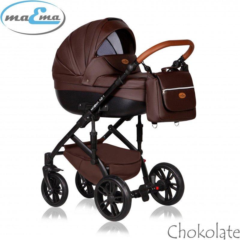 Maema AZ1 Chokolate Bērnu rati 2in1