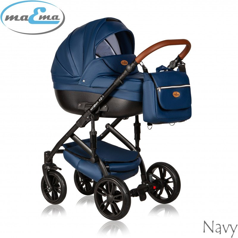 Maema AZ1 Navy Bērnu rati 2in1