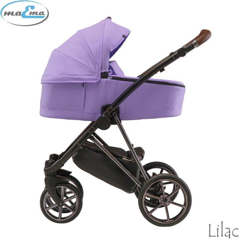 Maema Eleganza Lilac Bērnu rati 3in1