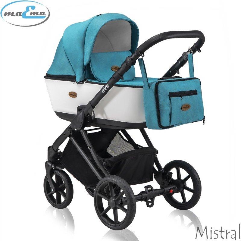 Maema eVe Mistral Bērnu rati 3in1