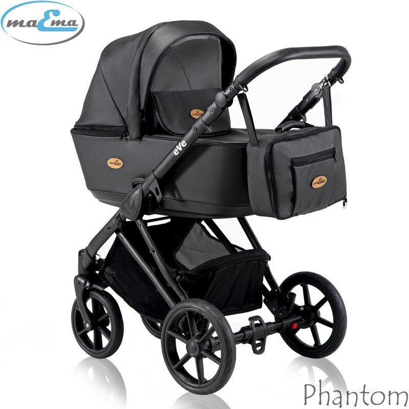Maema eVe Phantom Bērnu rati 3in1