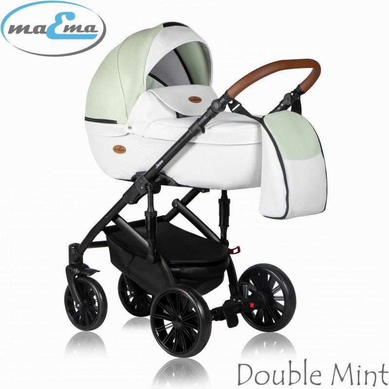 Maema Jess 3in1 Double Mint Bērnu ratiņi 3 in 1