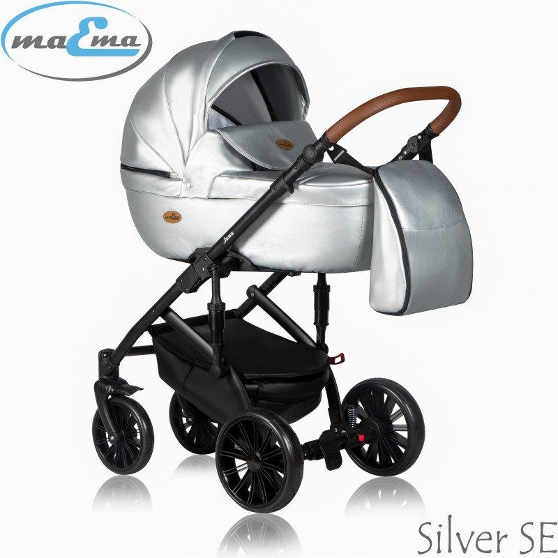 Maema Jess Silver SE Bērnu rati 3in1