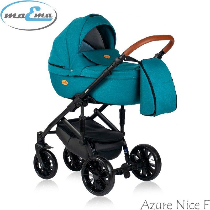 Maema Jess Azure Nice F Bērnu rati 3in1