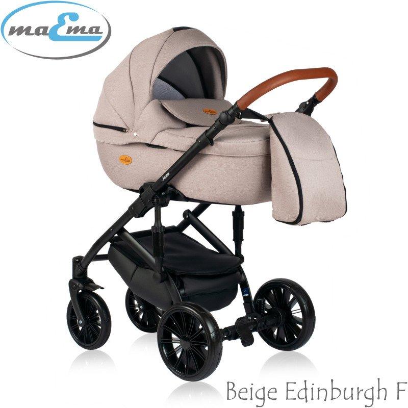 Maema Jess Beige Edinburgh F Bērnu rati 3in1