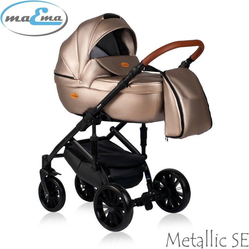 Maema Jess Metallic SE Bērnu rati 3in1
