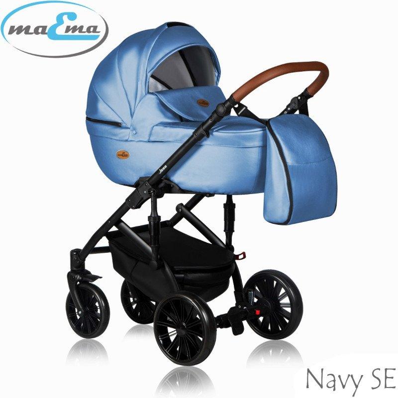 Maema Jess Navy SE Bērnu rati 3in1