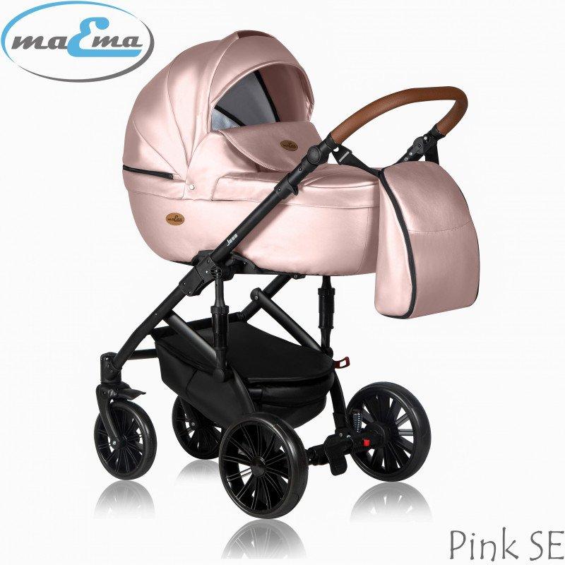 Maema Jess Pink SE Bērnu rati 3in1