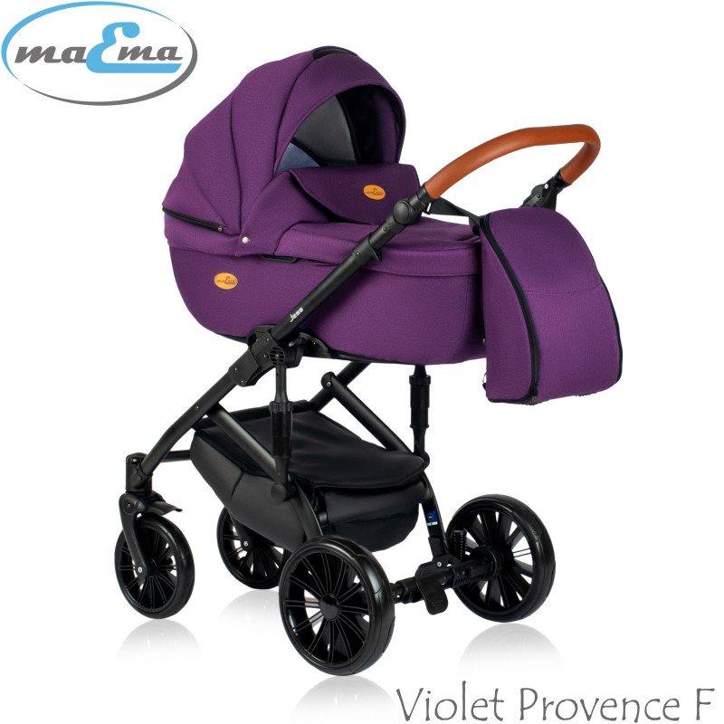 Maema Jess Violet Provence F Bērnu rati 3in1
