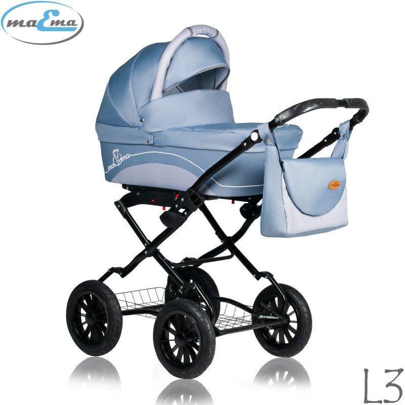 Maema Lika Classic L3 Bērnu rati 3in1