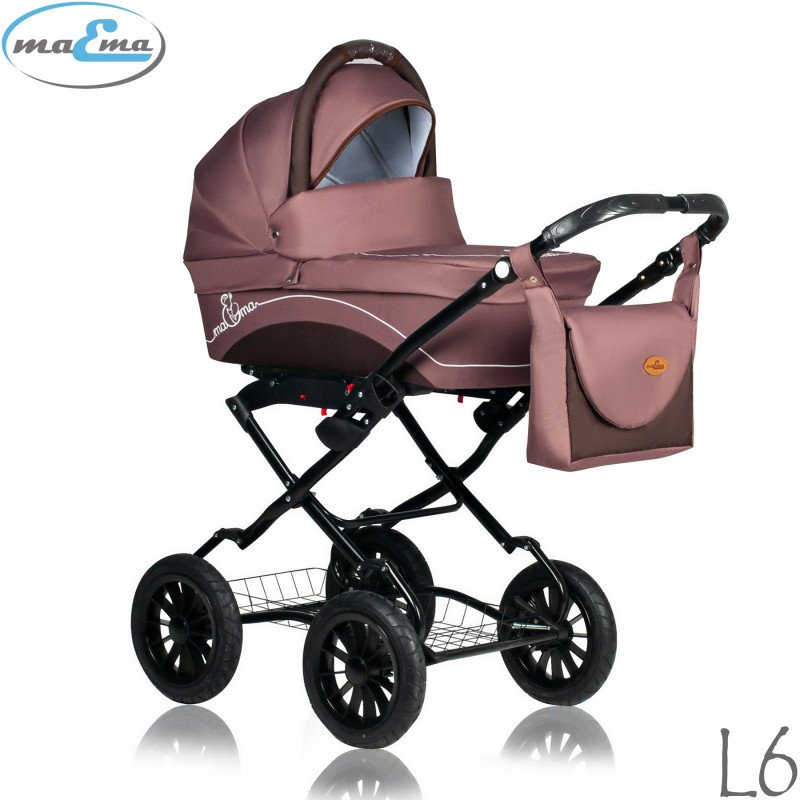 Maema Lika Classic L6 Bērnu rati 3in1