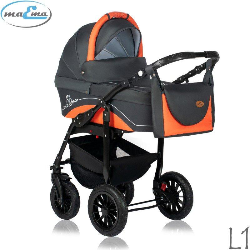 Maema Lika L1 Bērnu rati 3in1
