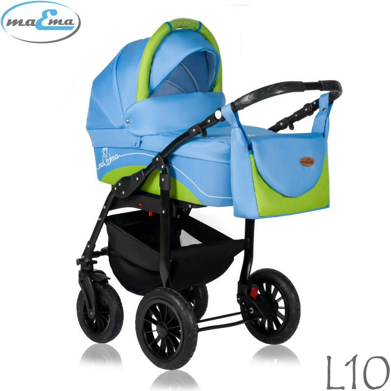 Maema Lika L10 Bērnu rati 3in1
