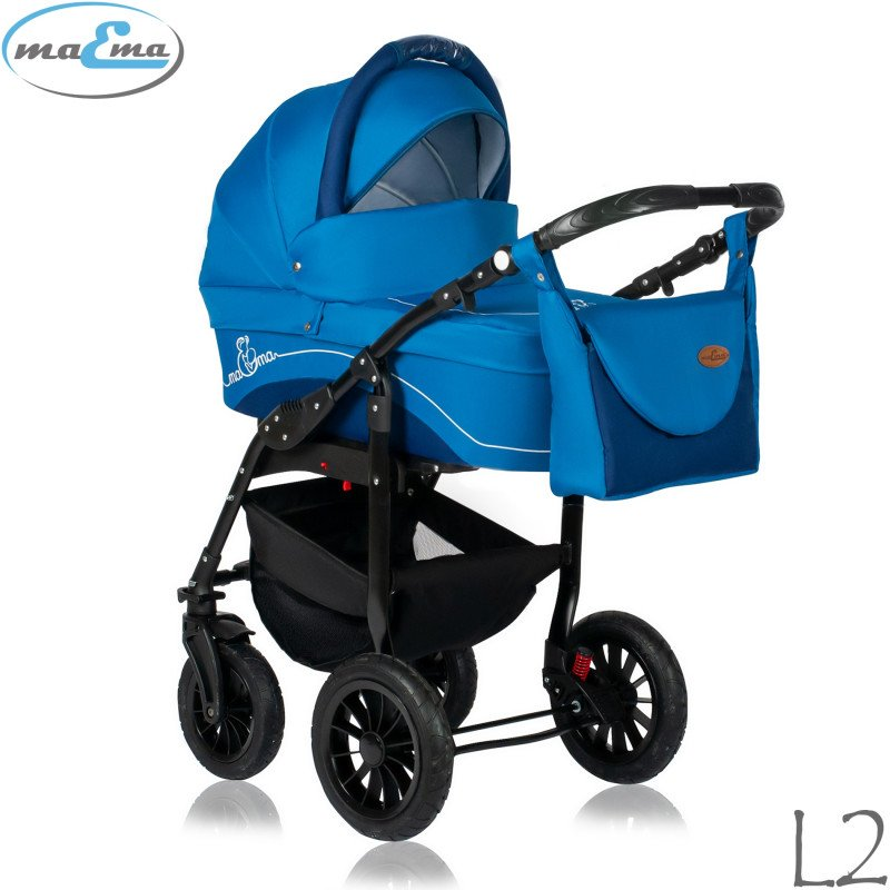 Maema Lika L2 Bērnu rati 3in1