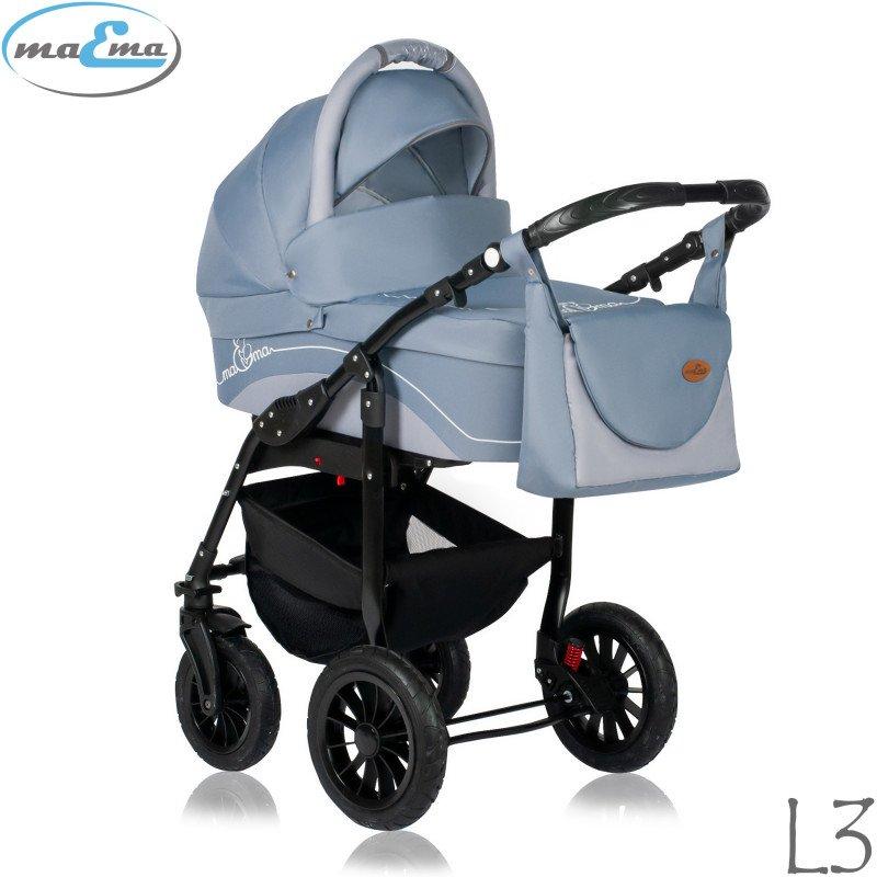 Maema Lika L3 Bērnu rati 3in1