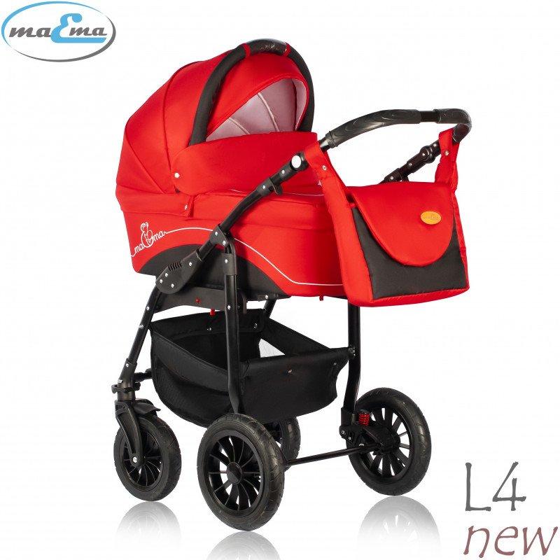 Maema Lika L4 New Bērnu rati 3in1