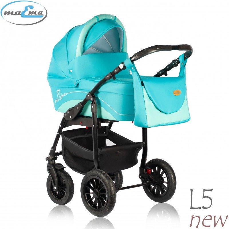 Maema Lika L5 New Bērnu rati 3in1