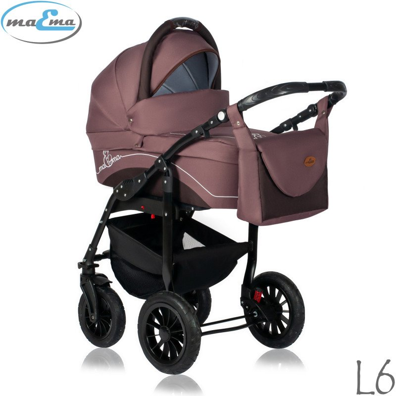 Maema Lika L6 Bērnu rati 3in1