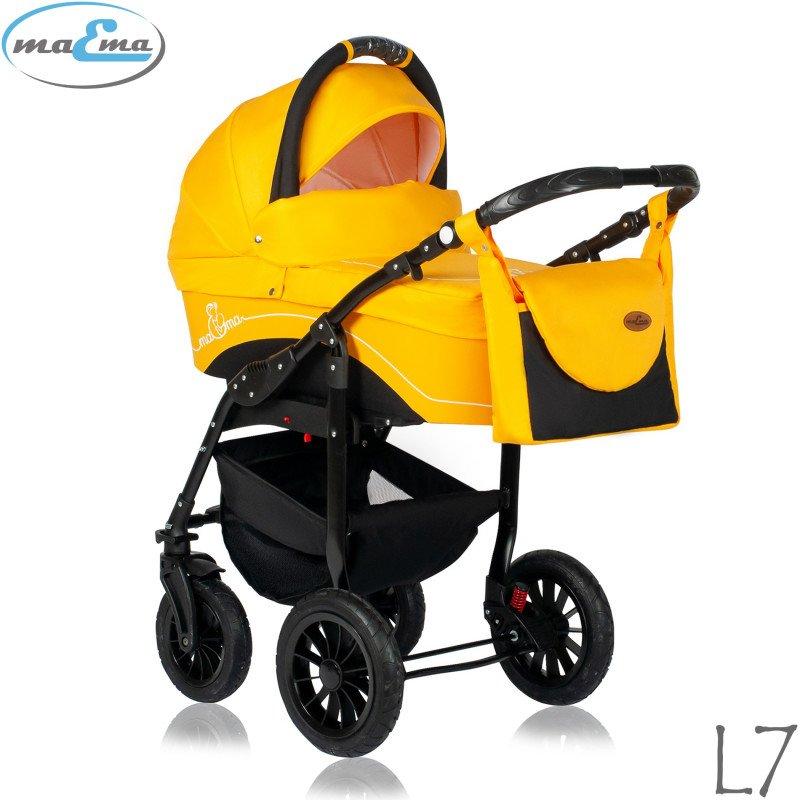 Maema Lika L7 Bērnu rati 3in1