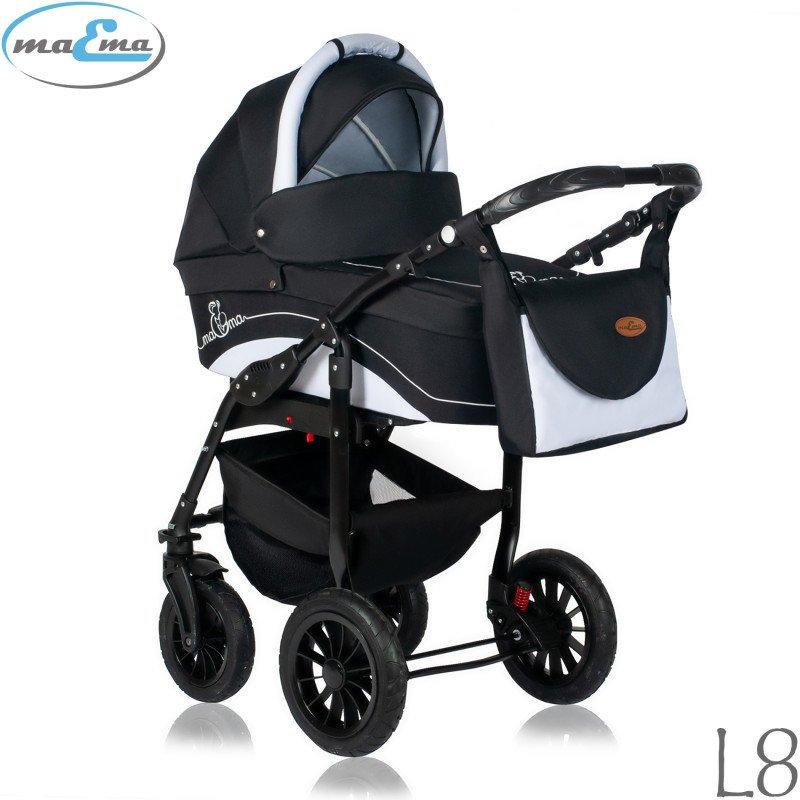 Maema Lika L8 Bērnu rati 3in1