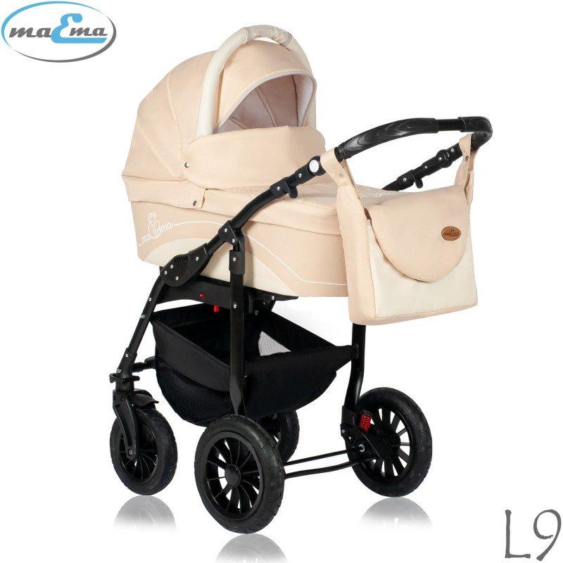 Maema Lika L9 Bērnu rati 3in1