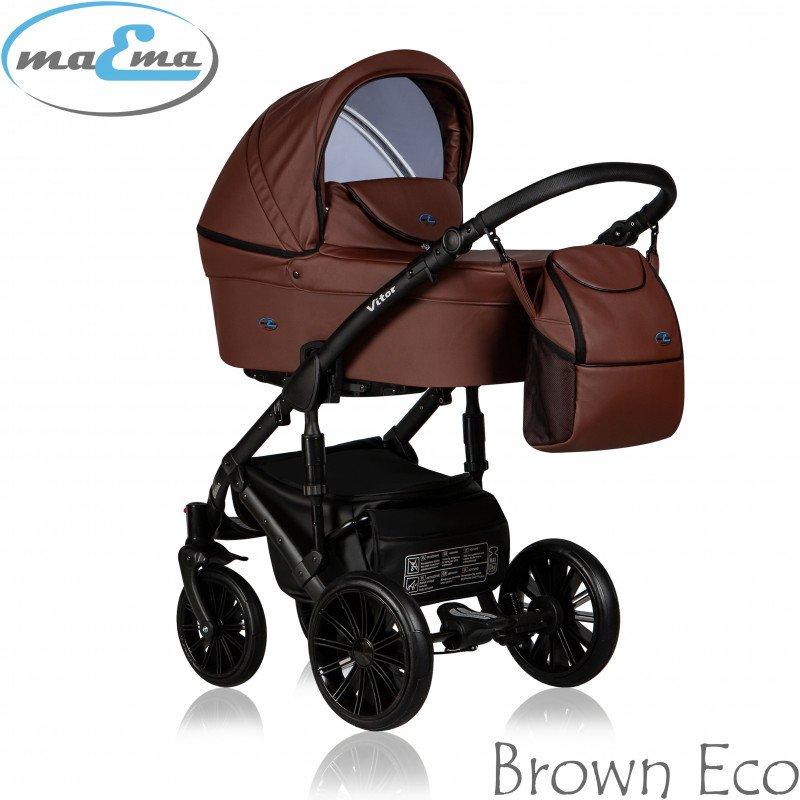 Maema Vitor 3in1 Brown Eco Universālie rati 3 vienā