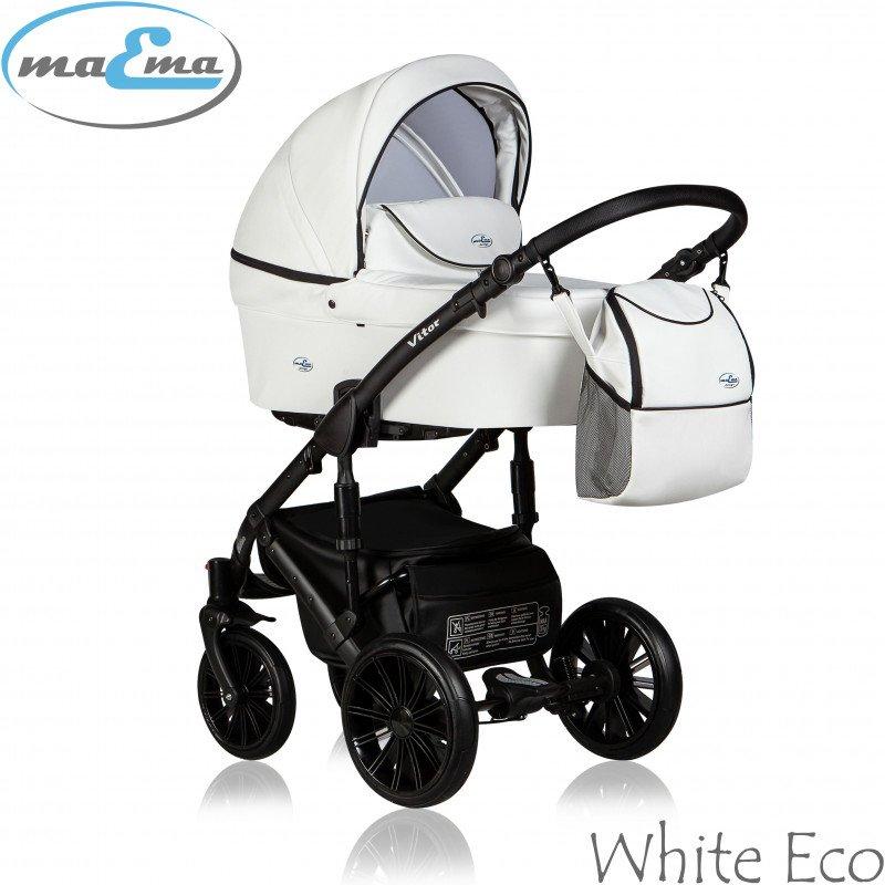 Maema Vitor 3in1 White Eco Universālie rati 3 vienā