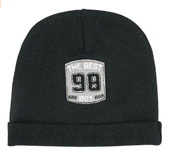 Makoma Black Mazuļu 100% kokvilna cepure