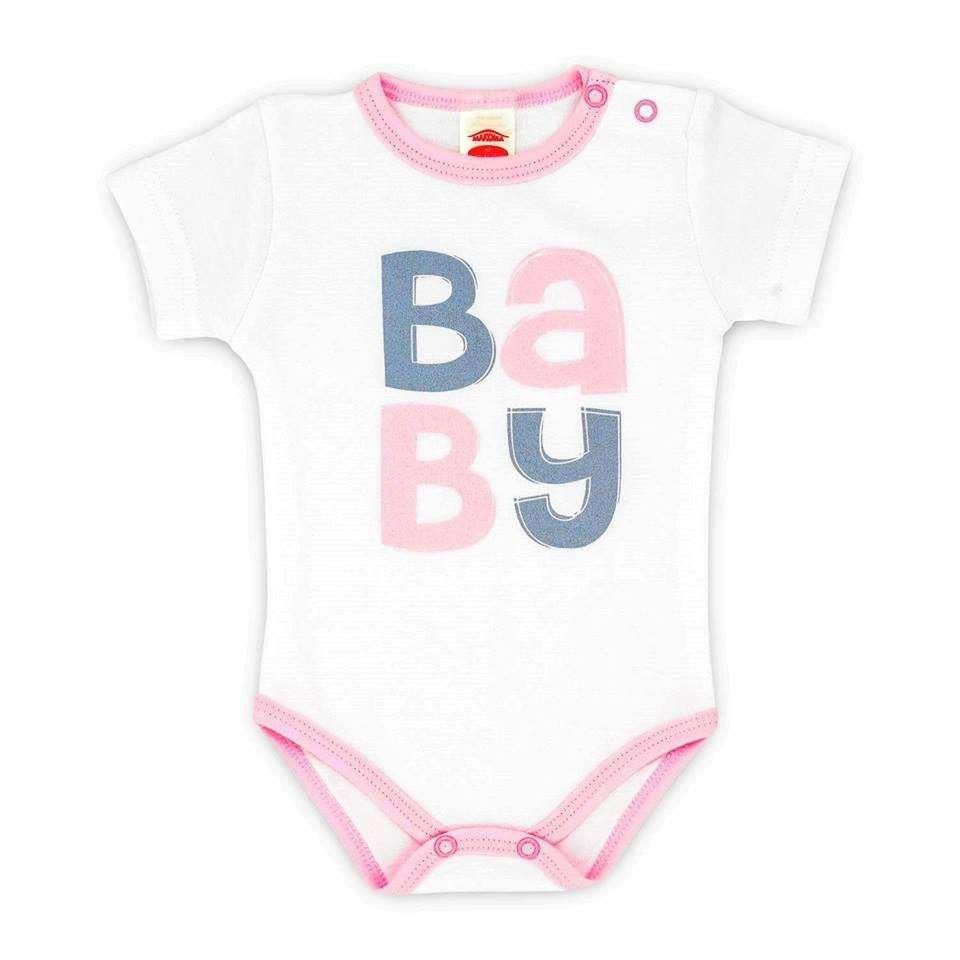 Makoma Body Baby Zīdaiņu bodiji ar īsām piedurknēm