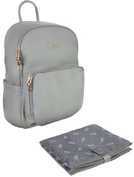 Māmiņas mugursoma - ratiņu soma Canpol Babies Grey